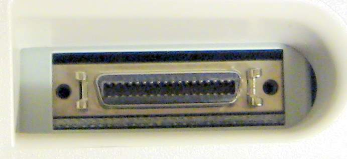 HP LaserJet Mini Centronics Connector IEEE-1284c